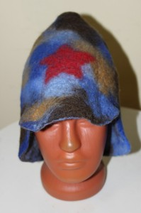 Валяные шапки